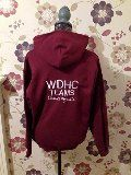 Children's WDHC  Teams Burgundy Embroidered Hoodie