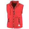 Childrens Red Body Warmer -Celyn Polocrosse