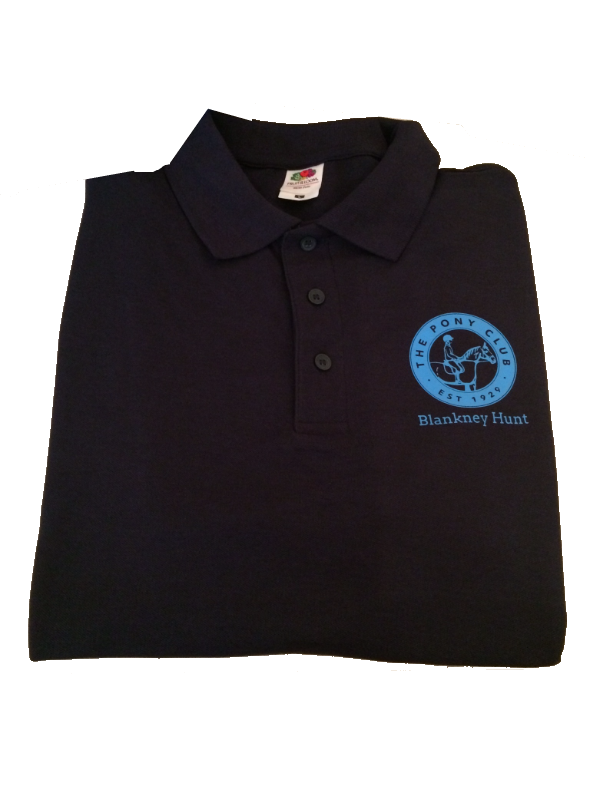 ADULT Blankney Navy Polo Shirt