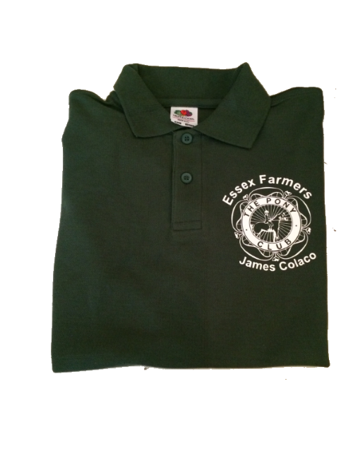 ADULT  Essex Farmers Bottle Green Polo Shirt