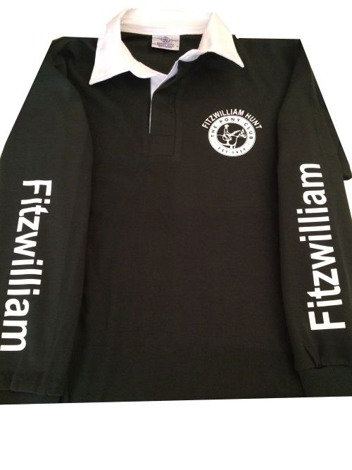 ADULT Fitzwilliam PC Bottle Long Sleeved Rugby Shirt