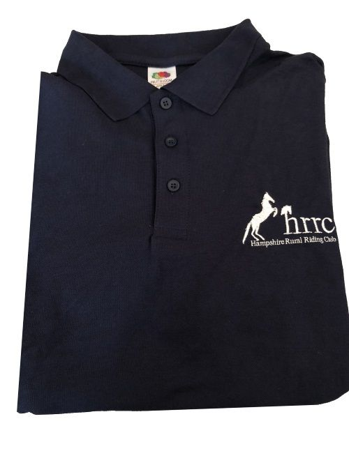 ADULT HRRC  Navy Polo Shirt