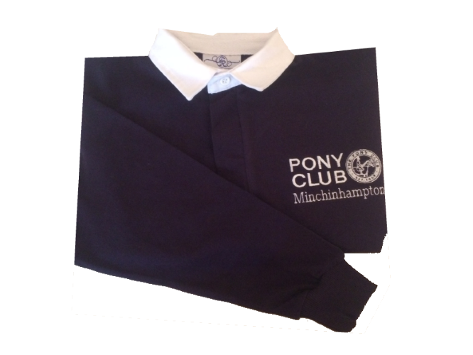 ADULT Minchinhampton Pony Club Long Sleeved Rugby Shirt