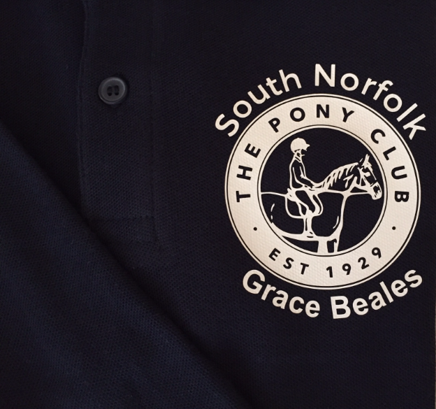 ADULT  South Norfolk Pony Club Polo Shirt