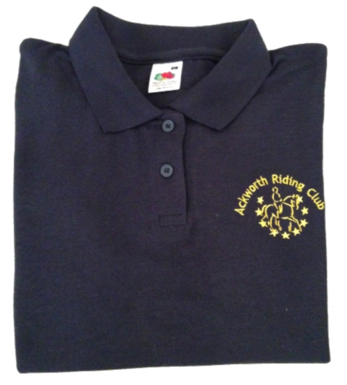 Adults Ackworth RC Navy Polo Shirt