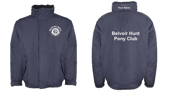 Adults Belvoir Navy Regatta Dover Jacket