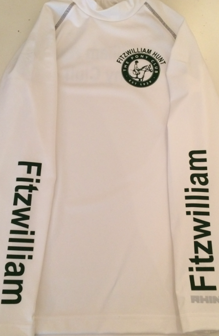 Adults Fitzwilliam Pony Club White Base Layer