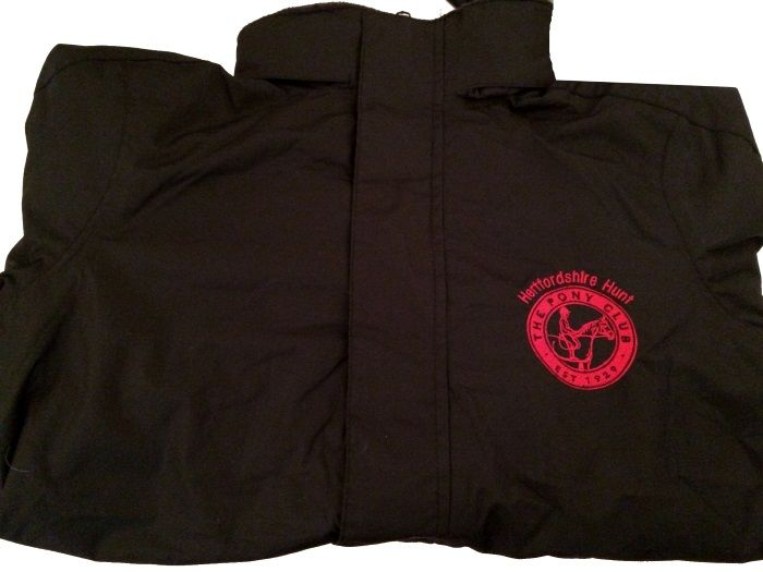 Adults Herts Hunt Black Regatta Dover Jacket