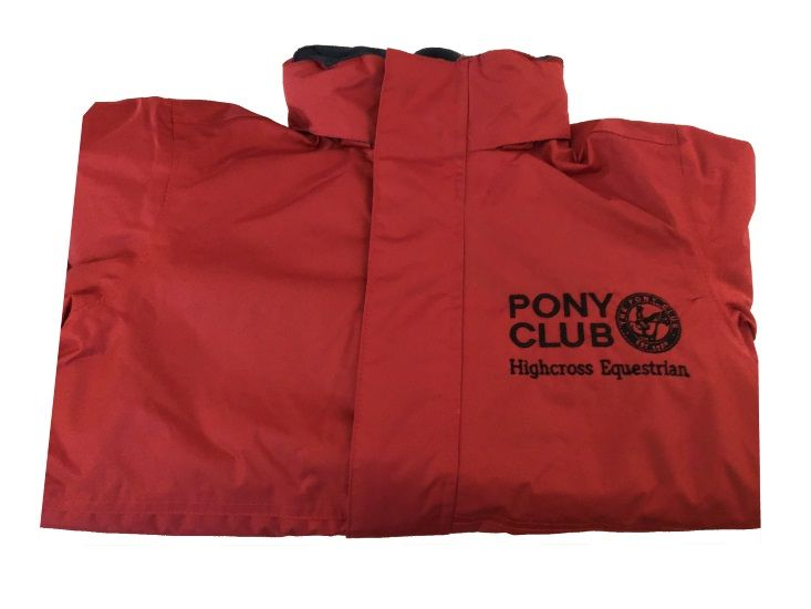 Adults Highcross Equestrian Red Regatta Dover Jacket