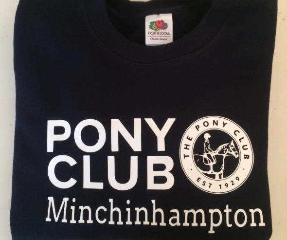 Adults Minchinhampton Navy Sweatshirt