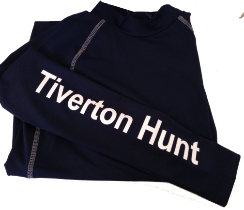 Adults Navy Tiverton Hunt Pony Club  Base Layer