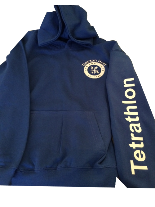 Adults Royal Dulverton West  Pony Club Hoodie. Tet or Games