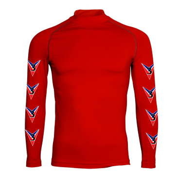 Adults Three Valleys Red Base Layer
