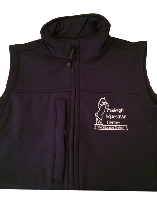 Adults Thurleigh Equestrian Centre  Soft shell Body Warmer