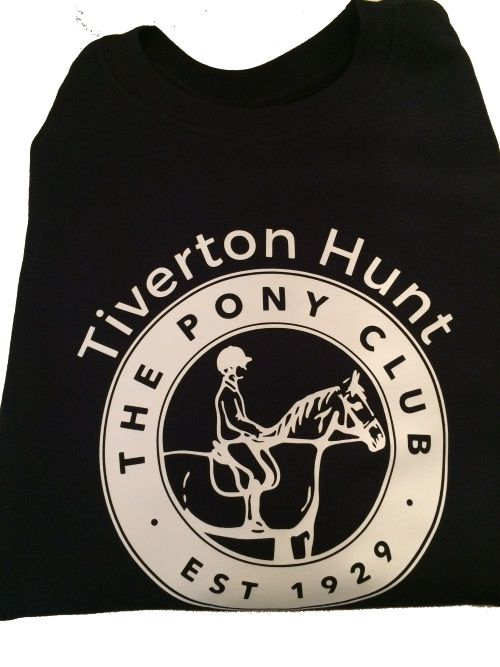 Adults Tiverton Hunt Pony Club  Navy Sweatshirt
