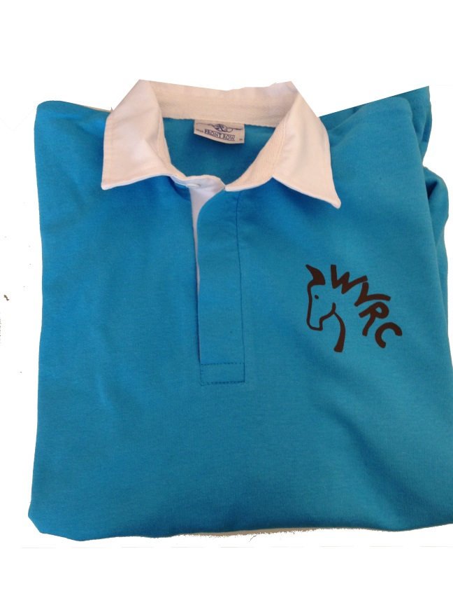 Adults Wey Valley Turquoise  Rugby Shirt
