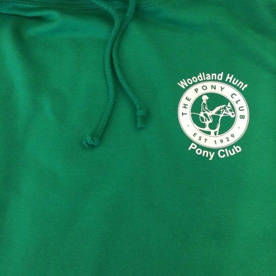 Adults Woodland Hunt Green Pony Club Committee Hoodie