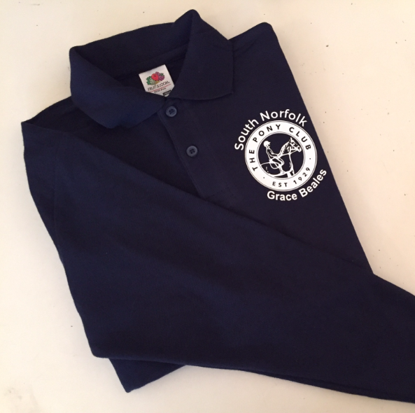 AdultsSouth Norfolk Long Sleeve Navy Polo