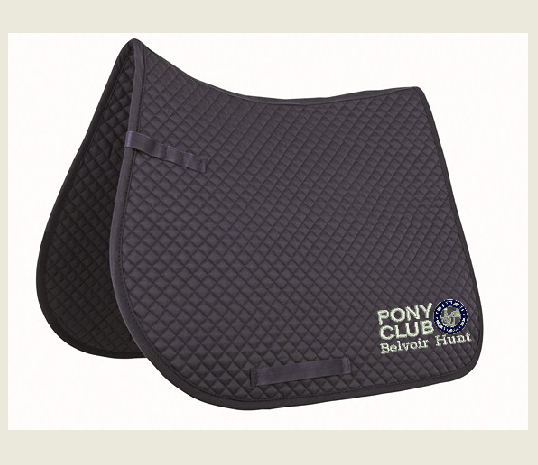 Belvoir Hunt PC GP navy saddlecloth