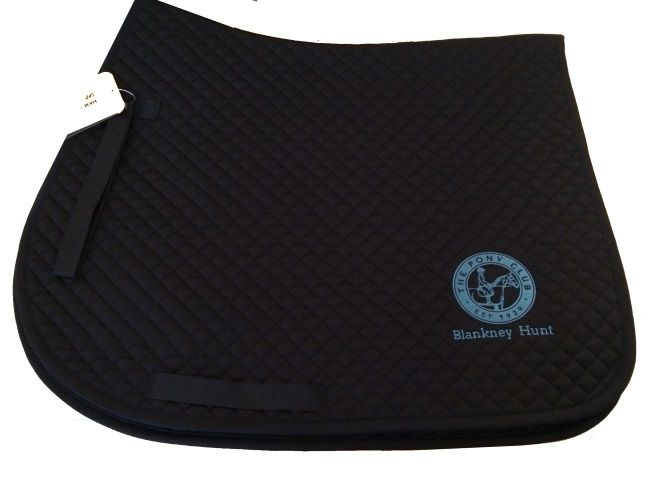 Blankney Hunt Pony Club Navy Saddlecloth