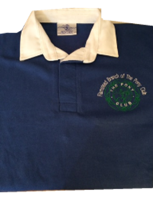 CHILD Flamstead Pony Club Royal  Rugby Shirt