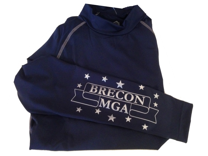 Children's Brecon MGA navy Base Layers