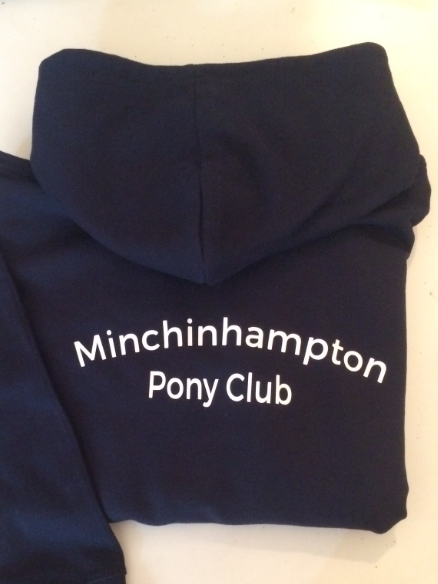 Children's Navy Minchinhampton Pony Club Hoodie