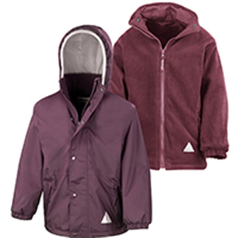 Children's Penistone and District RC Burgundy R160X  Result jacket