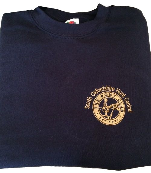 Children's South Oxfordshire Hunt Central   Navy Sweatshirt