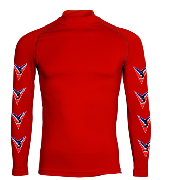Childrens 3 Valleys Red Base Layer