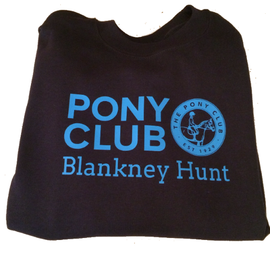 Childrens' Blankney Pony Club Navy Sweatshirt