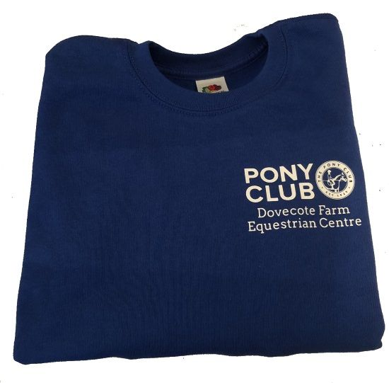 Childrens Dovecote Farm Equestrian Centre Royal Sweatshirt