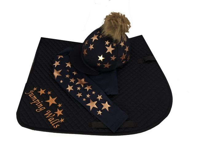Childrens Navy/Rose Gold Base Layer Cross Country Colours