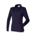 Childrens NCHPC Long Sleeve Navy Polo