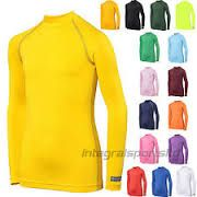 Childrens Printed LONG SLEEVE  Rhino Base Layers Many Colours (long Sleeve)