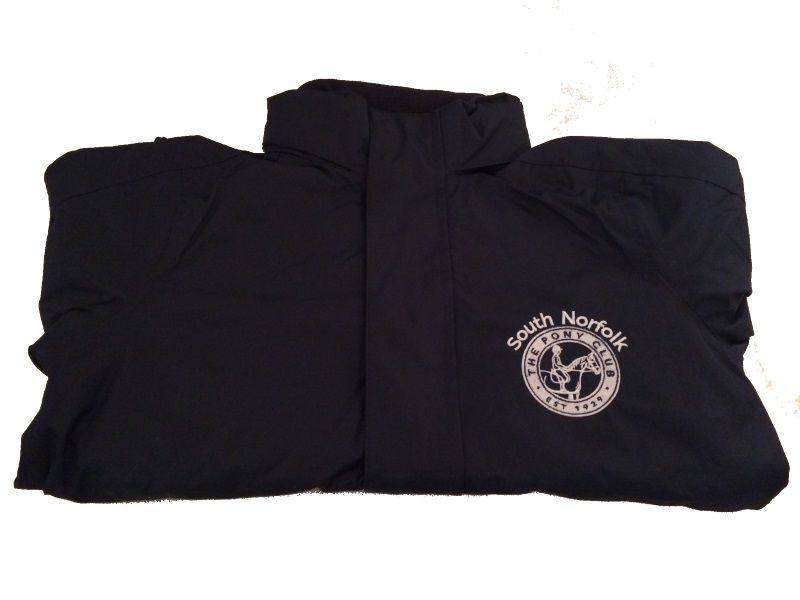 Childrens South Norfolk Pony Club Showerproof Jacket