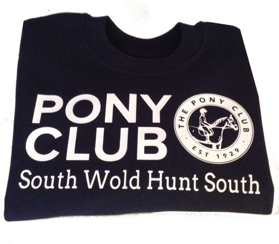 Childrens South Wold Hunt South Branch Navy Sweatshirt