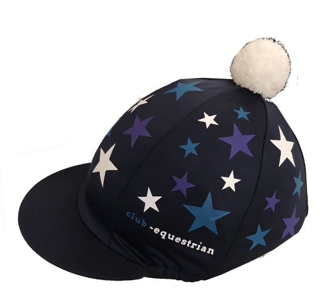 Club Equestrian Navy Hat Silk