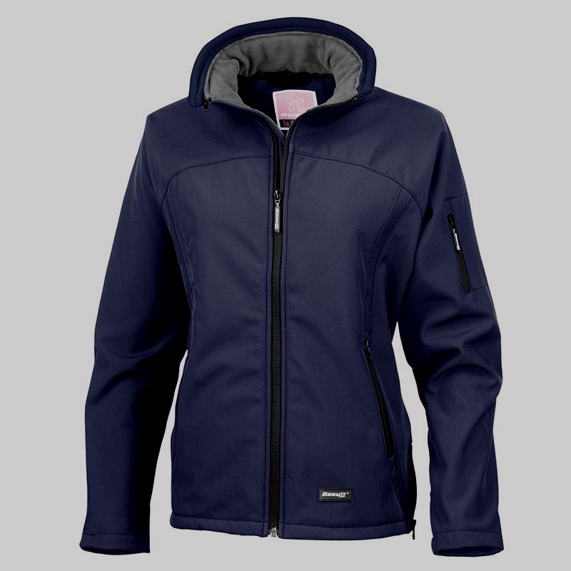 Ladies Hern Gate Dressage  Navy Softshell Jacket R122f