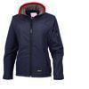 Ladies navy soft shell Jacket South Wold Hunt