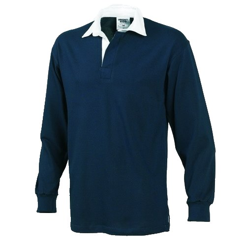 Navy South Norfolk Pony Club Long Sleeved Rugby Shirt