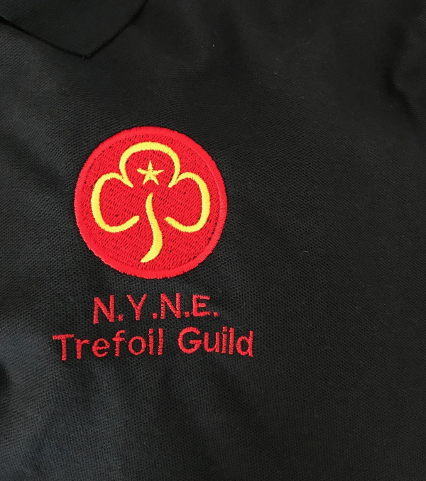 North Yorkshire North East Trefoil Guild Navy Polo Shirt