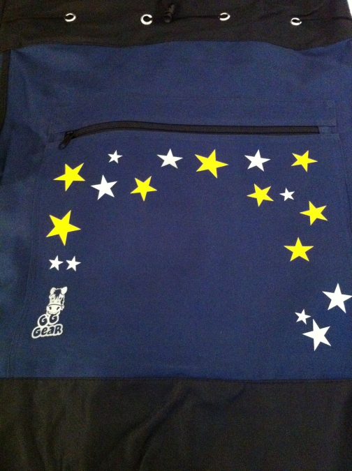 Personalised Kit Bag - Navy