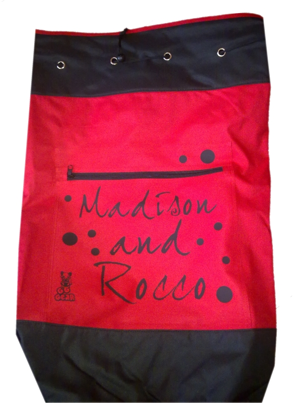 Personalised Kit Bag - Red