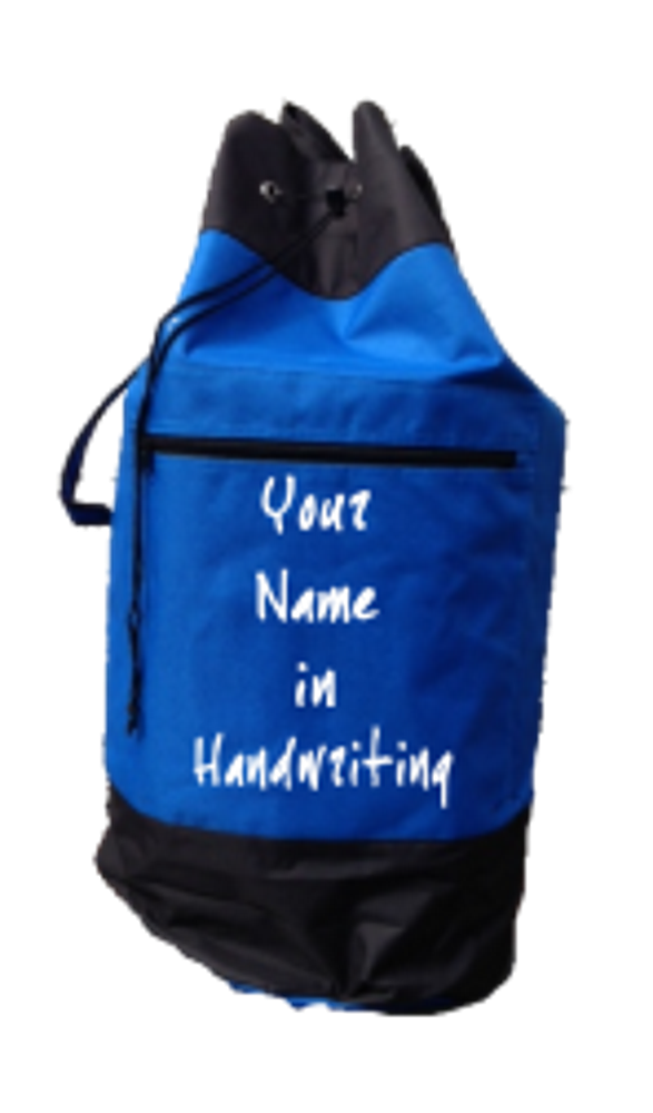 Personalised Kit Bag -Royal  Blue
