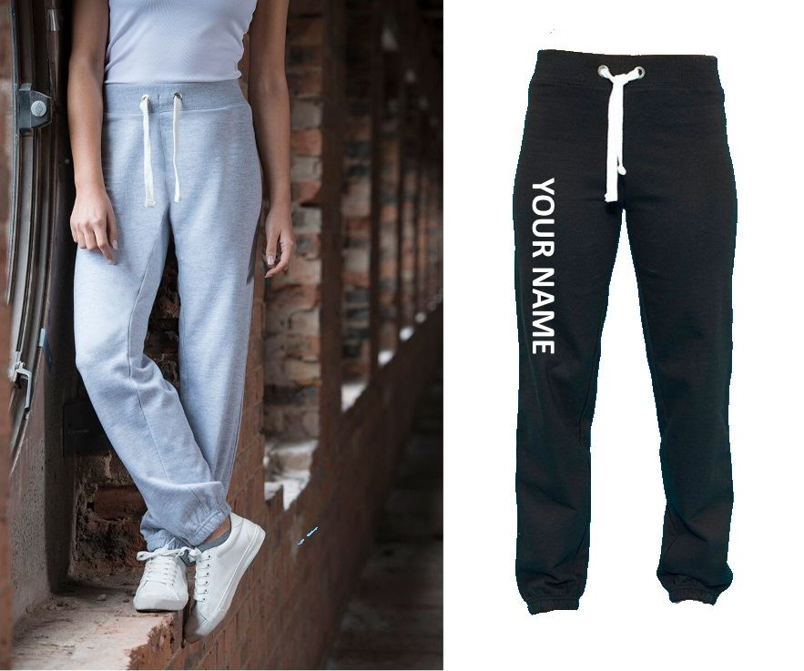 Personalised Ladies Fit Joggers (cuffed)