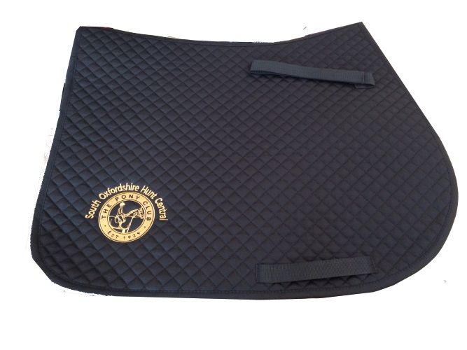South Oxfordshire Hunt Central  Pony Club Navy Saddlecloth