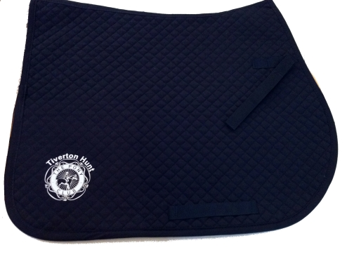 Tiverton Hunt Pony Club  Navy Saddlecloth
