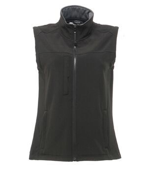Women's Carriage Driving club Black  Flux Softshell Bodywarmer