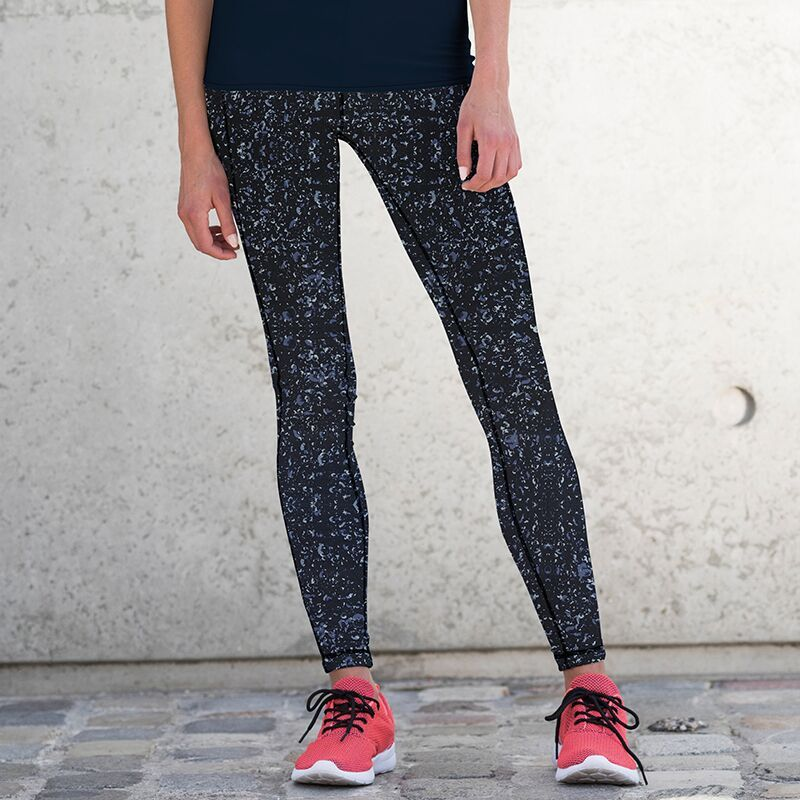 Women's reversible work-out/riding  leggings